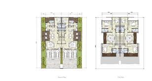 cluster home floor plans cascadia the project dumont