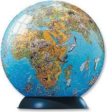 world map globe image illustrated world map puzzle globe