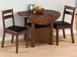 saving small dining room spaces with rectangular modern gateleg