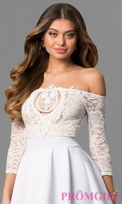 graduation dresses casual white dresses promgirl