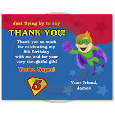 birthday thank you notes birthday party thank you cards