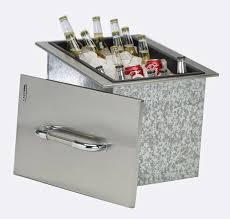 Trinity Stainless Steel Cooler by Patio Cooler