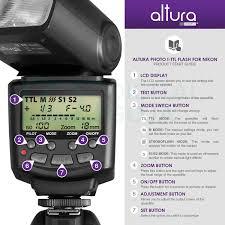 nikon d5300 black friday amazon com altura photo professional flash kit for nikon dslr