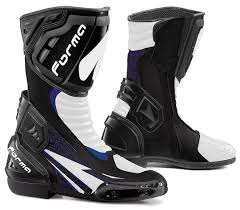 grey motorcycle boots forma clothing forma freccia dry electra waterproof motorcycle
