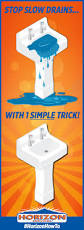 How To Clear A Kitchen Sink Blockage by Best 25 Slow Drain Ideas On Pinterest Unclogging Drains Diy