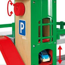brio parking garage wooden toy garage brio parking garage