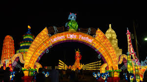 light festival san bernardino chinese artesian prepare for opening weekend for twin cities lantern