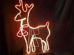 Outdoor Christmas Decorations Sale Uk by Sale Christmas Decorations Rope Light Reindeer And Bells