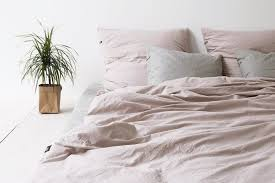 Dusty Blue Duvet Cover Bedroom Pure Cotton Bedding Set Dusty Pink Crowdyhouse Duvet Cover