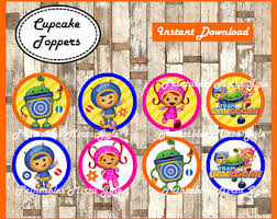 umizoomi cake toppers team umizoomi party etsy