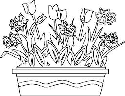 printable spring flowers flower coloring pages printable free flower coloring pages free