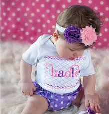 monogram baby items personalized baby girl clothes shabby chic with polka dot