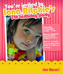 customized birthday and christening invitation creative mommy
