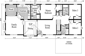 simple four bedroom house plans new one floor cabin with smart