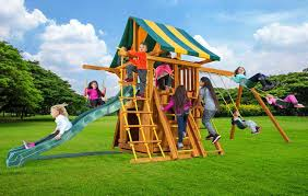 Kids Backyard Play Set by Eastern Jungle Gym Swing Sets Best In Backyards