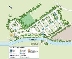 Midsomer England Map by Home Bath Caravan Park