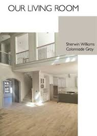 sherwin williams modern gray for living room foyer and hall ways