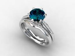 london wedding band blue topaz wedding rings engagement ring set london blue topaz