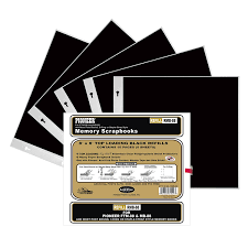 pioneer photo albums inc pioneer black refill pages for 8 inch by 8 inch memory