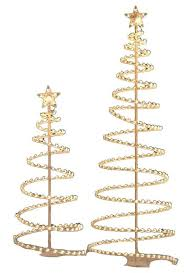 spiral metal ornament display tree metal tree