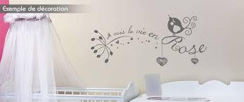 sticker mural chambre fille stickers mural chambre enfant je vois la vien en