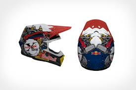 motocross helmet red bull mark ward studio