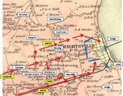 Battle Of Gettysburg Map Wrightsville Part 4 With York County Civil War Guide Scott Mingus