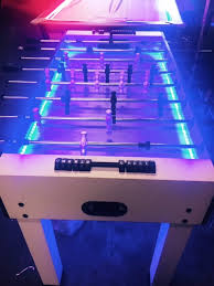 table rentals chicago glow in the foosball table neon light foosball table rentals