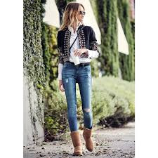 s bethany ugg boots see how zoe styles winter s coziest boots