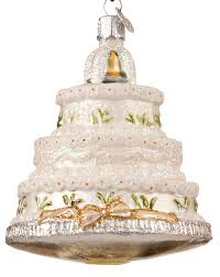 wedding cake christmas ornament wedding cake christmas ornament
