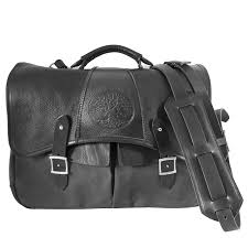 laptop messenger bag leather waxed canvas 13 charcoal