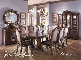 Fancy Dining Room Chairs Modern Formal Dining Room With Circle Table Beige Elegant