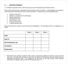 business plan templates microsoft microsoft word and excel 10