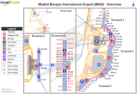 Madrid Map Madrid Madrid Barajas International Mad Airport Terminal Maps
