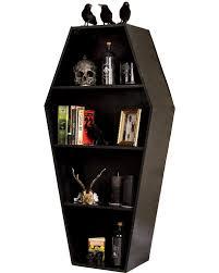 coffin bookshelf koffin s decor coffin shelf tragic beautiful buy online