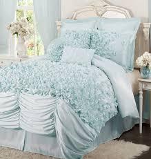 aqua ruffle comforter house of hton felix 4 piece comforter set reviews wayfair
