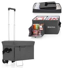 Ottoman Cooler Ottoman Cooler W Trolley Grey The Festival Shop