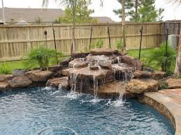 Waterfall In Backyard Pool Waterfall Ideas You Can Recreate In Your Backyard Decor