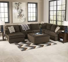livingroom sets plush contemporary 3 sectional with left facing chaise find