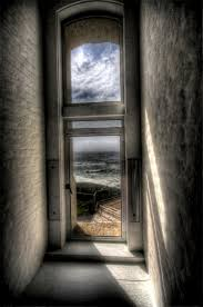 Vitre Louisiana by Taped Window Sunset At The Montera Lighthouse Keepers House