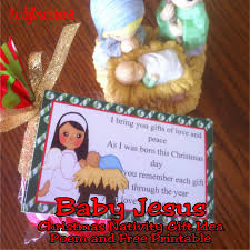 baby jesus christmas nativity advent gift idea day 12 everyday