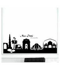 giftsnfriends black new delhi silhouette mode nature vinyl wall giftsnfriends black new delhi silhouette mode nature vinyl wall stickers