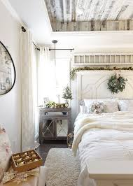 Contemporary French Interiors French Country Farmhouse Bedroom Decorated For Christmas Decor