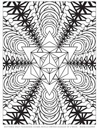 sacred geometry coloring pages kids coloring