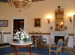 Brown Dining Blue Room Blue Room White House Museum