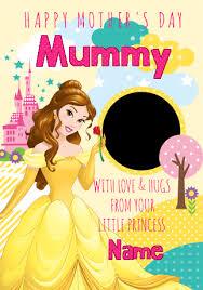 disney princess mother u0027s princess belle funky pigeon