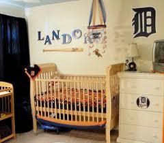 Retro Nursery Decor Baby Nursery Decor Landor Traditional Wooden Baseball Baby