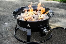 heininger heininger portable propane outdoor fire pit u0026 reviews