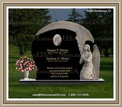 cost of headstones angel headstone 15 angel markers for granite memorial angel