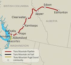 Washington State Mountains Map by Kinder Morgan A Different Kind Of Energy Company